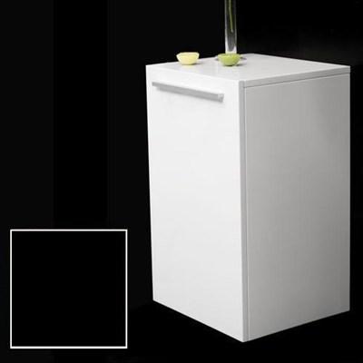 Läs mer om badrumsskåpet, klicka här   Halvskåp Bathlife Evita Förvaring 600 Mattsvart