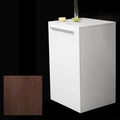 Läs mer om badrumsskåpet, klicka här   Halvskåp Bathlife Evita Förvaring 600 Mörk Ek