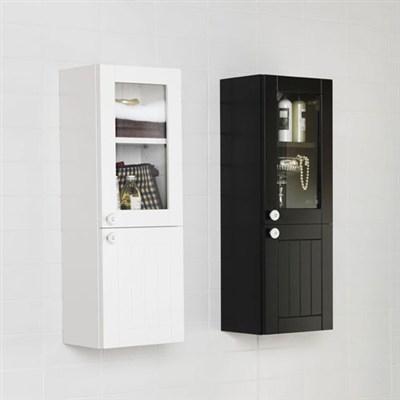 Läs mer om badrumsskåpet, klicka här   Halvskåp Hafa Hampton Antracitgrå