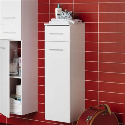 Läs mer om badrumsskåpet, klicka här   Halvskåp Hafa Sweet Matt Vit