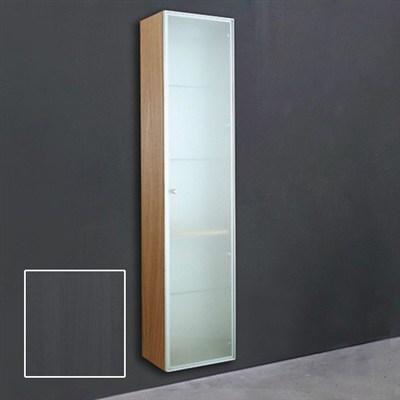 Läs mer om badrumsskåpet, klicka här   Högskåp 1 Svedbergs Indigo 170 cm Grå Betsad