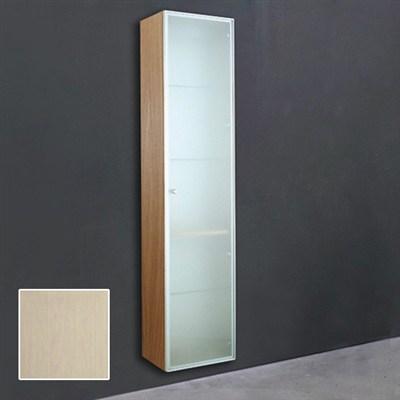 Läs mer om badrumsskåpet, klicka här   Högskåp 1 Svedbergs Indigo 170 cm Vit Ask