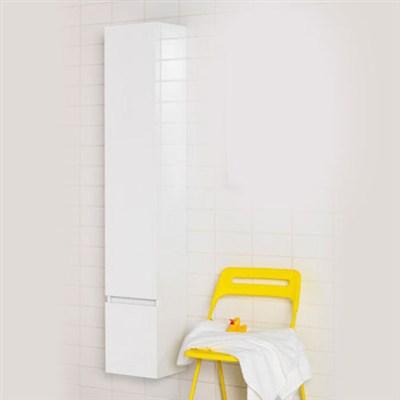 Läs mer om badrumsskåpet, klicka här   Högskåp Hafa East Vit