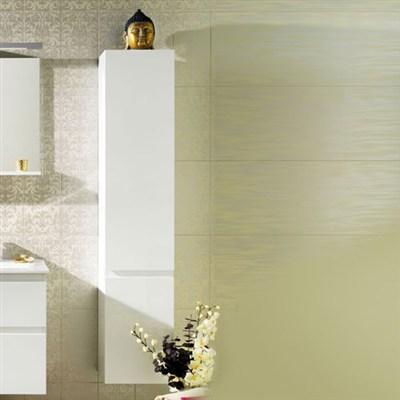 Läs mer om badrumsskåpet, klicka här   Högskåp Westerbergs Motion SQ Vit Högblank