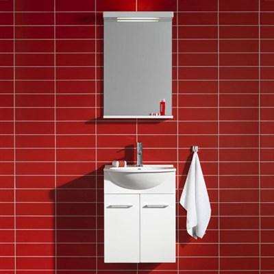 Läs mer om badrumsskåpet, klicka här   Möbelpaket Hafa Sweet Vit