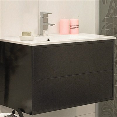 Läs mer om badrumsskåpet, klicka här   Möbelpaket Noro Avanti Matt Svart