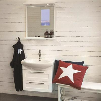 Läs mer om badrumsskåpet, klicka här   Möbelpaket Noro Polo Vit Högblank