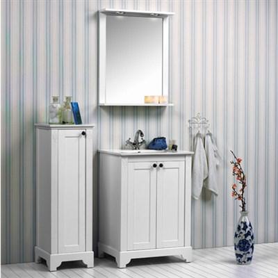 Läs mer om badrumsskåpet, klicka här   Möbelpaket Noro Sundborn 600