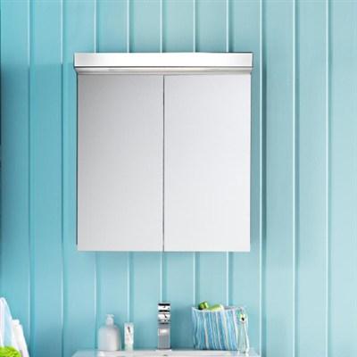Läs mer om badrumsskåpet, klicka här   Spegelskåp Hafa East Vit