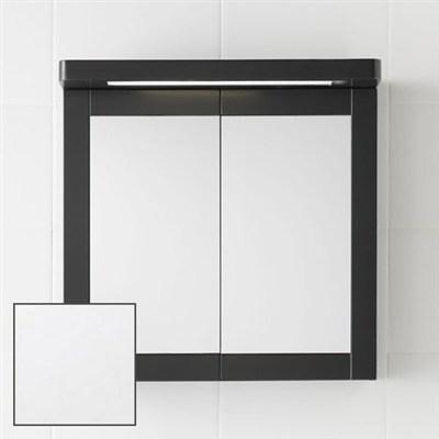 Läs mer om badrumsskåpet, klicka här   Spegelskåp Hafa Hampton Matt Vit