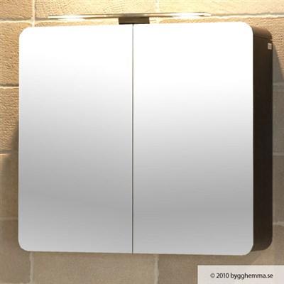 Läs mer om badrumsskåpet, klicka här   Spegelskåp Hafa Lime Wenge