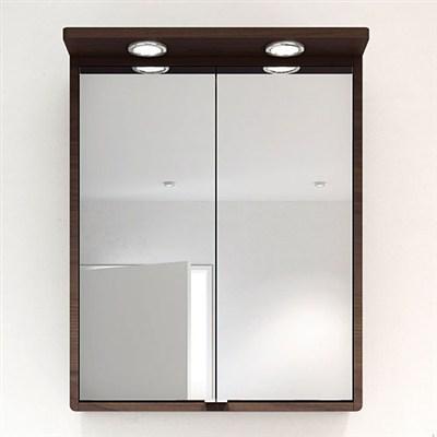 Läs mer om badrumsskåpet, klicka här   Spegelskåp Hafa Moon Valnöt