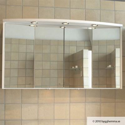 Läs mer om badrumsskåpet, klicka här   Spegelskåp Hafa Next Vision Vit