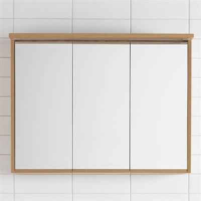 Läs mer om badrumsskåpet, klicka här   Spegelskåp Hafa Original Ek