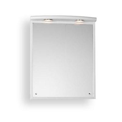 Läs mer om badrumsskåpet, klicka här   Spegelskåp Hafa Quiq Vit Matt
