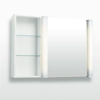 Läs mer om badrumsskåpet, klicka här   Spegelskåp Svedbergs 90 En Spegeldörr