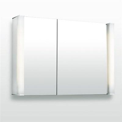 Läs mer om badrumsskåpet, klicka här   Spegelskåp Svedbergs 90 Två Spegeldörrar
