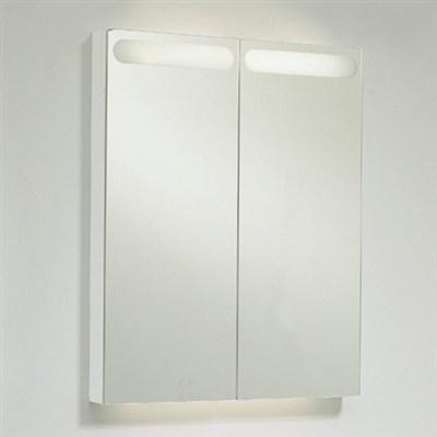 Läs mer om badrumsskåpet, klicka här   Spegelskåp Svedbergs Bianca D-Light