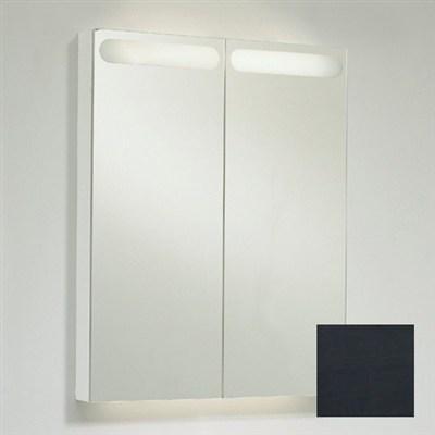 Läs mer om badrumsskåpet, klicka här   Spegelskåp Svedbergs D-Light Grå Betsad