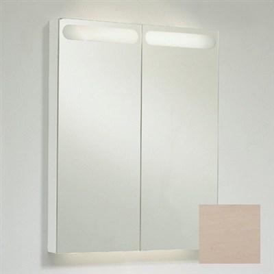 Läs mer om badrumsskåpet, klicka här   Spegelskåp Svedbergs D-Light Vit Ask