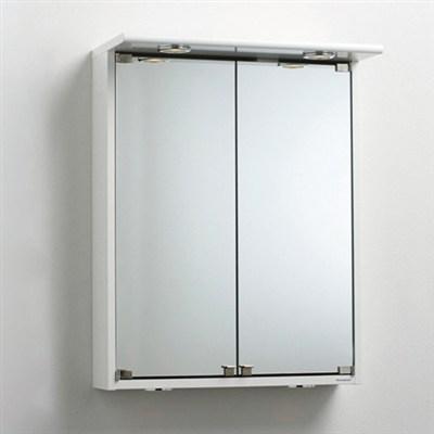 Läs mer om badrumsskåpet, klicka här   Spegelskåp Svedbergs Ny-Line 55 Halogen