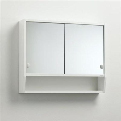 Läs mer om badrumsskåpet, klicka här   Spegelskåp Svedbergs Tvilling 65 Trä