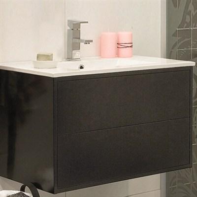 Läs mer om badrumsskåpet, klicka här   Tvättställsskåp Noro Avanti Matt Svart
