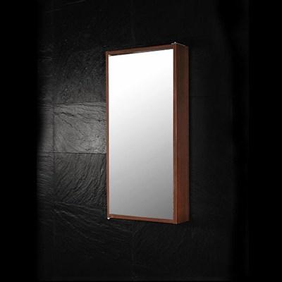 Läs mer om badrumsskåpet, klicka här   Väggskåp Westerbergs Swing Mörk Ek